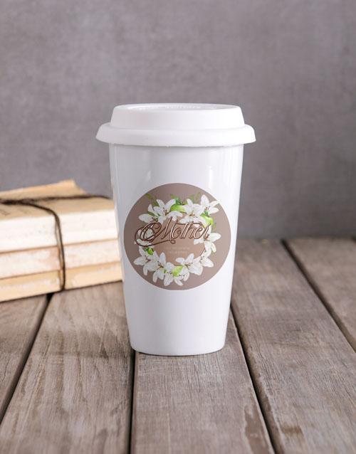 personalised: Personalised Mother Travel Mug!