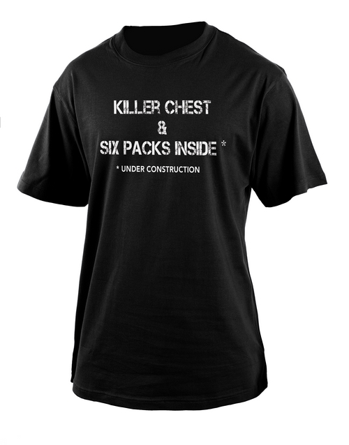 clothing: Personalised Killer Chest T Shirt!