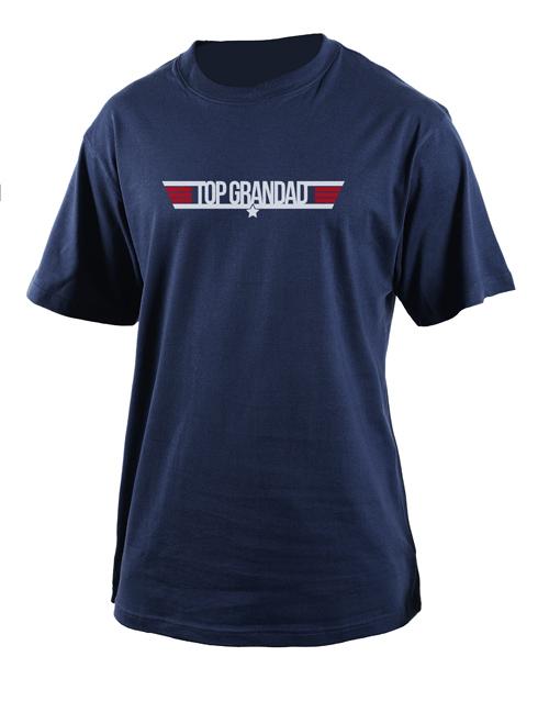 clothing: Personalised Top Grandad T Shirt!