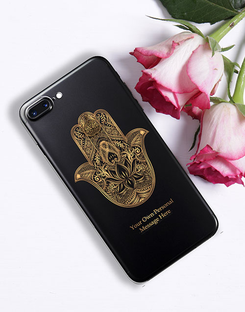 new-years: Personalised Hamsa iPhone Cover!
