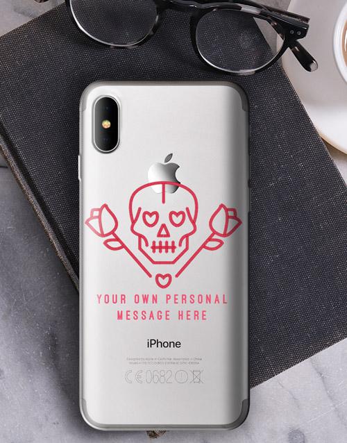 personalised: Personalised Los Muertos iPhone Cover!
