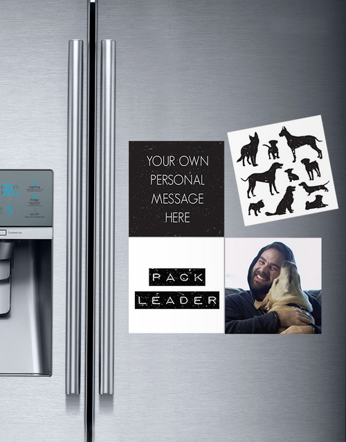 fathers-day: Personalised Pack Leader Magnets!