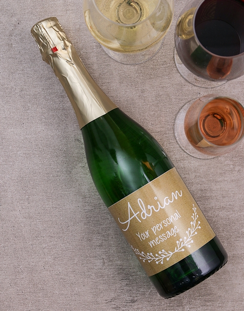 personalised: Personalised To You Wine!