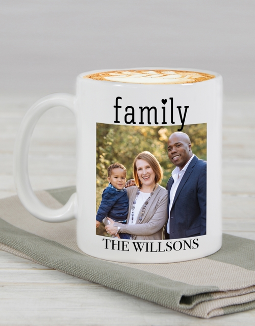 fathers-day: Personalised Family Photo Mug !