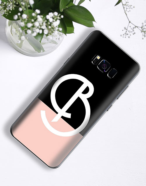 personalised: Personalised Deco Initial Samsung Cover!