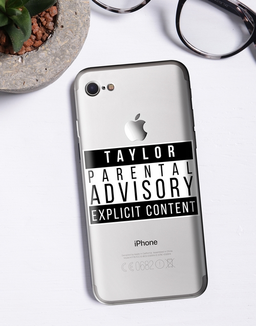 personalised: Personalised Explicit Content iPhone Cover!