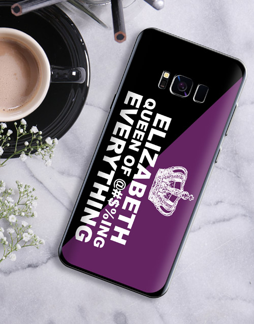 prices: Personalised Queen Samsung Cover!