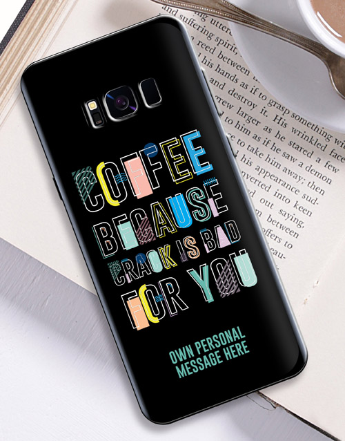 prices: Personalised Coffee Samsung Cover!