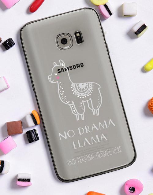 personalised: Personalised Llama Samsung Cover!