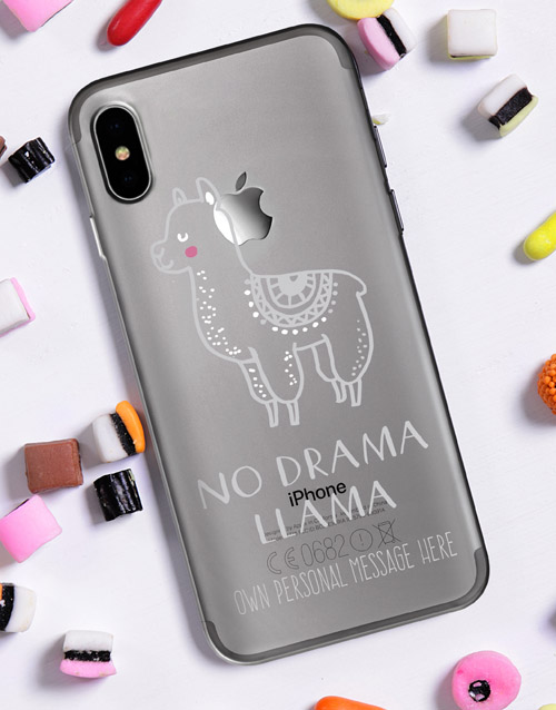 new-years: Personalised Llama iPhone Cover!