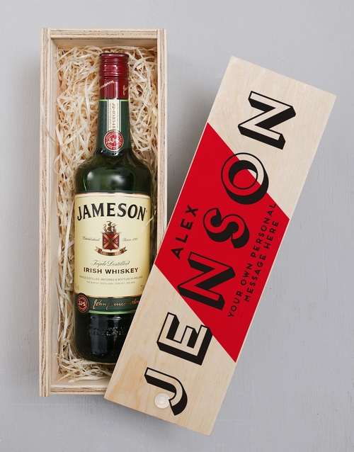 fine-alcohol: Personalised Regal Printed Crate!