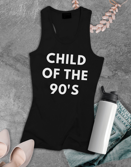 clothing: Personalised 90s Child Shirt for Ladies!