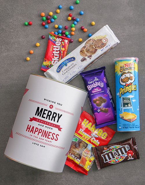 christmas: Personalised Merry Christmas Bro Bucket!
