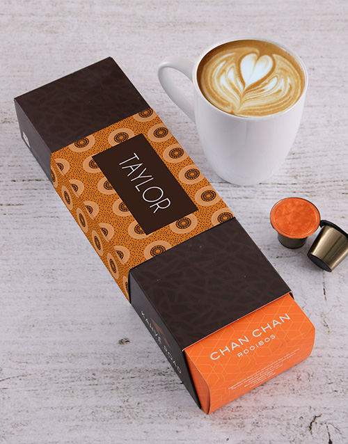 coffee-and-tea: Personalised Chan Chan Kahve Road Coffee Pods!