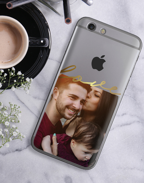 personalised: Personalised Love Photo iPhone Cover!