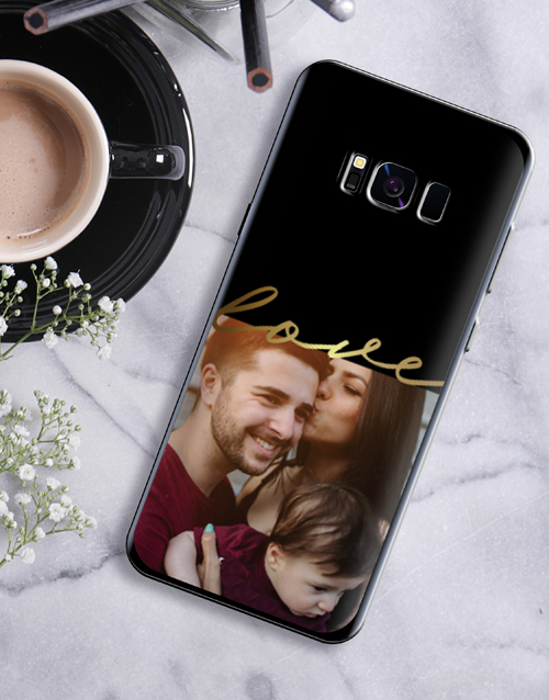 personalised: Personalised Love Photo Samsung Cover!