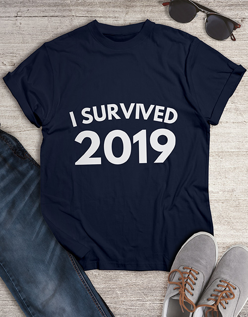 clothing: Personalised I Survived T Shirt !