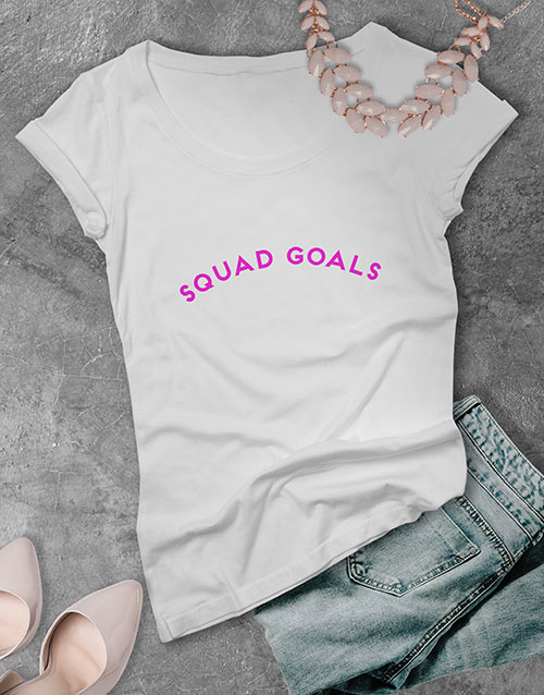 spring-day: Personalised Pink Glitter Text T Shirt!