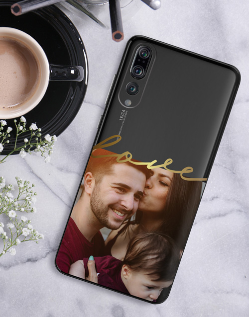 personalised: Personalised Love Photo Huawei Cover!