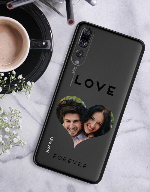 gadgets: Personalised Heart Photo Huawei Cover!