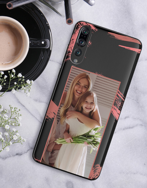 gadgets: Personalised Brushstroke Photo Huawei Cover!