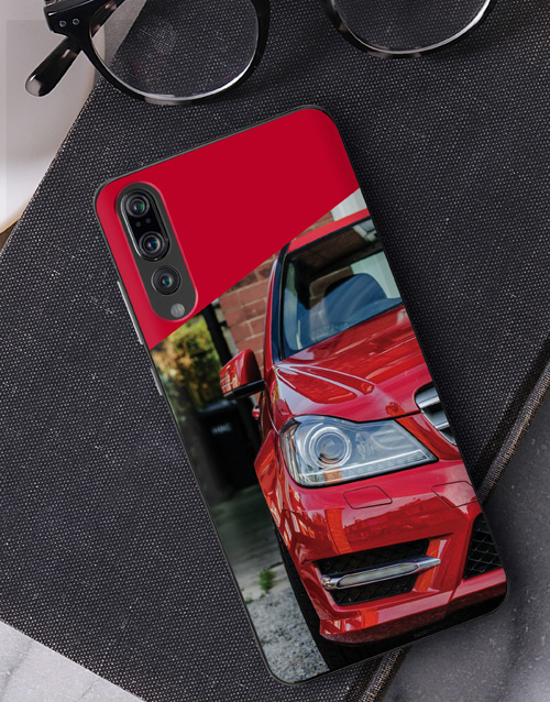 gadgets: Personalised Crimson Photo Huawei Cover!