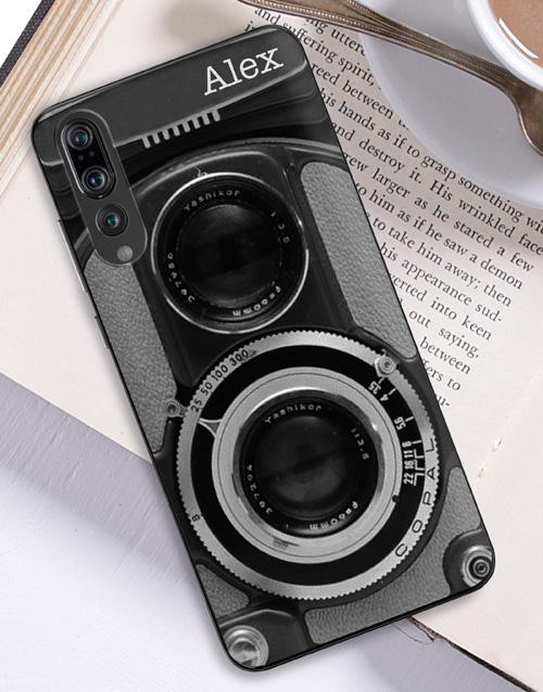personalised: Personalised Camera Huawei Cover!