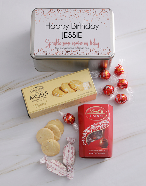 personalised: Personalised Magical Birthday Snack Tin!
