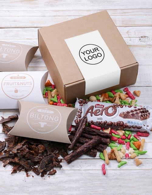 corporate: Own Logo Biltong Box!
