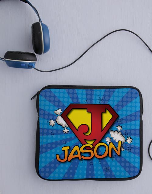 personalised: Personalised Neoprene Super Tablet Cover!