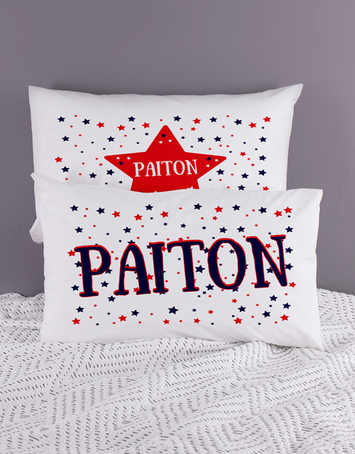 personalised: Personalised Stars Pillow Case Set!