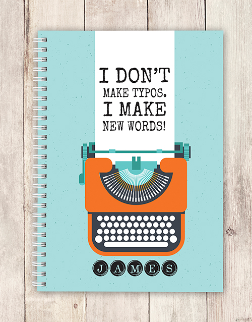 notebooks: Personalised New Words Notebook!