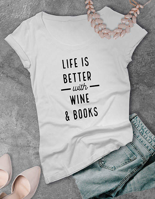personalised: Personalised Life Is Better With Ladies T Shirt!