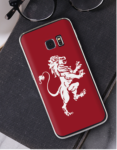 personalised: Personalised Lionheart Samsung Cover!