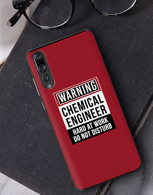 gadgets: Personalised Warning Huawei Cover!