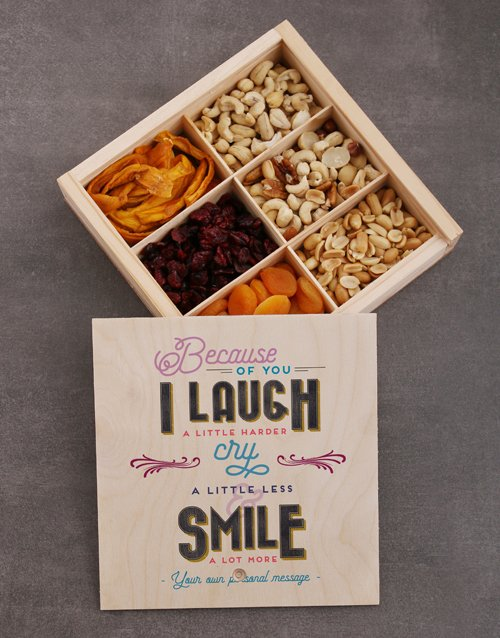 gourmet: Personalised Because of You Snack Crate!