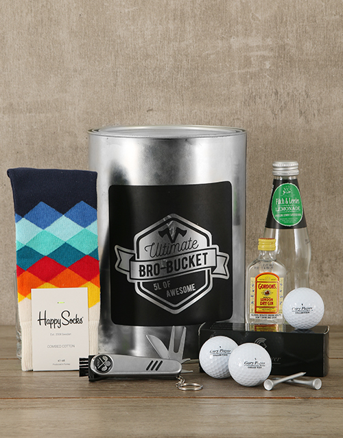 christmas: Golf Pro Bro Bucket!