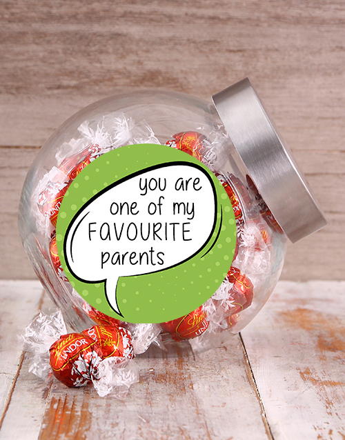 fathers-day: Favourite Parents Candy Jar!