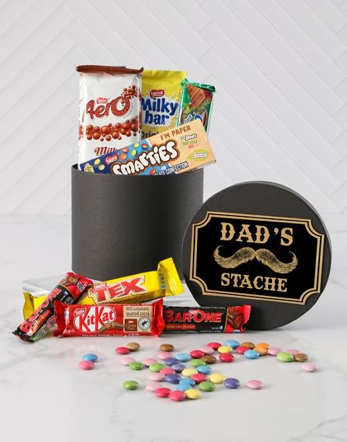 fathers-day: Dads Stache Choc Hat Box!