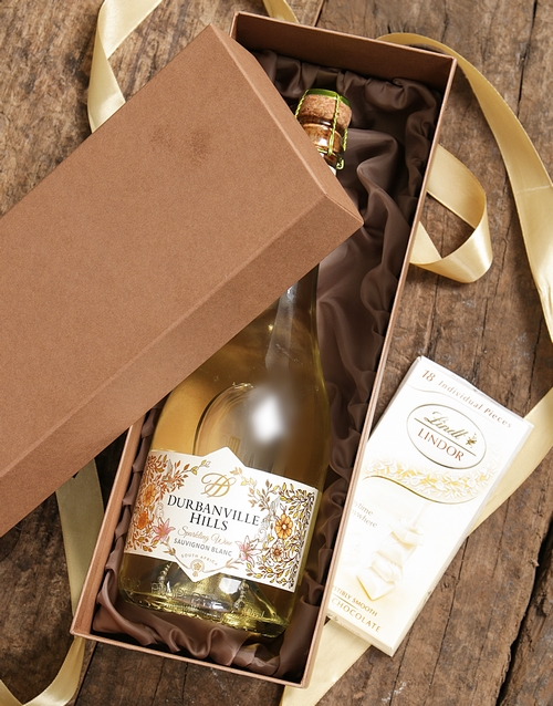 christmas: Gold Box of Durbanville Hills!