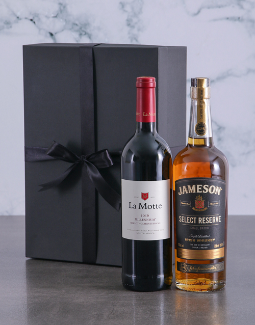 bosses-day: Wine and Whiskey Duo Giftbox!