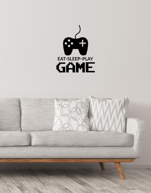 prices: Eat Sleep Play Gamer Wall Vinyl!
