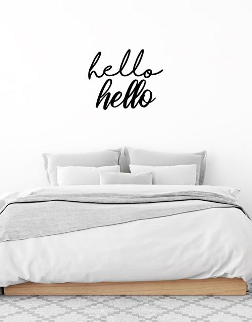 prices: Hello Hello Wall Vinyl!