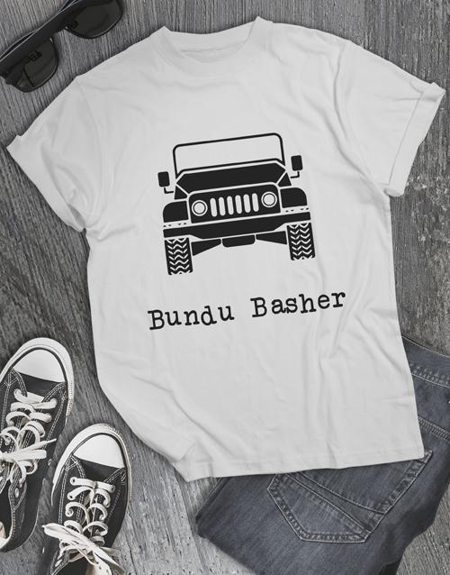 clothing: Bundu Basher Jeep T Shirt!