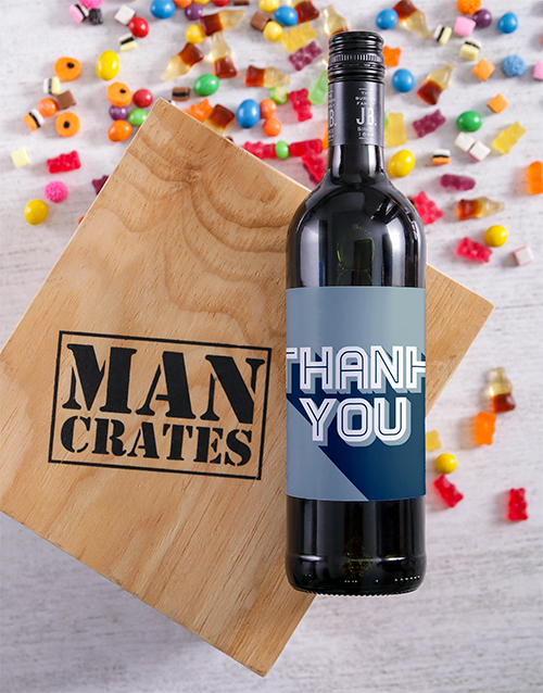 gourmet: Thank You Wine Man Crate!