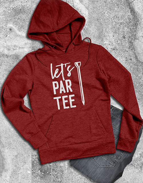 clothing: Lets Partee Hoodie!