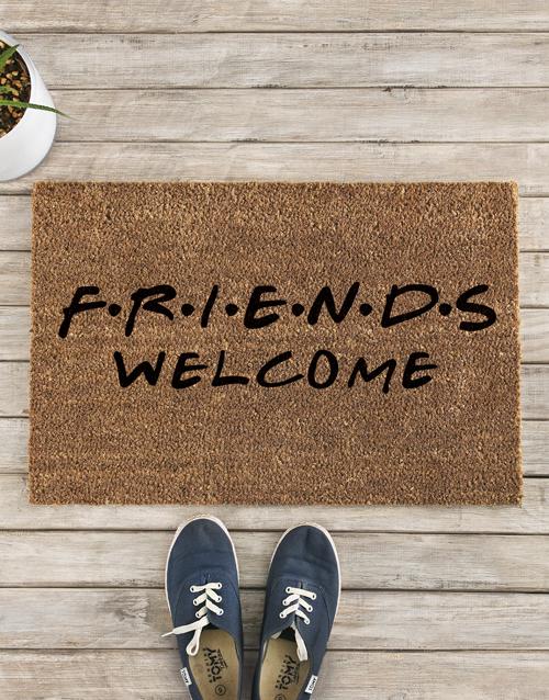 home-decor: F.R.I.E.N.D.S Welcome Doormat!