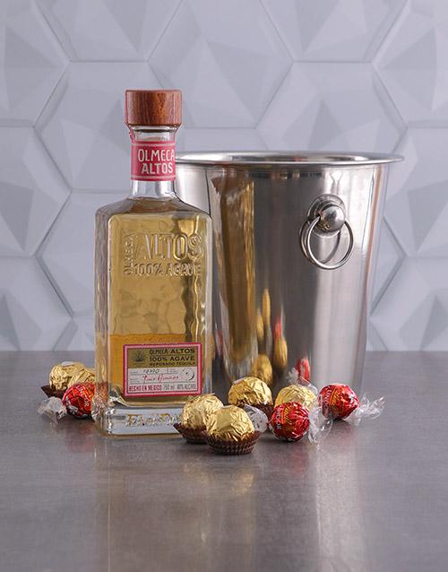 fine-alcohol: Olmeca Resposado Ice Bucket Gift!