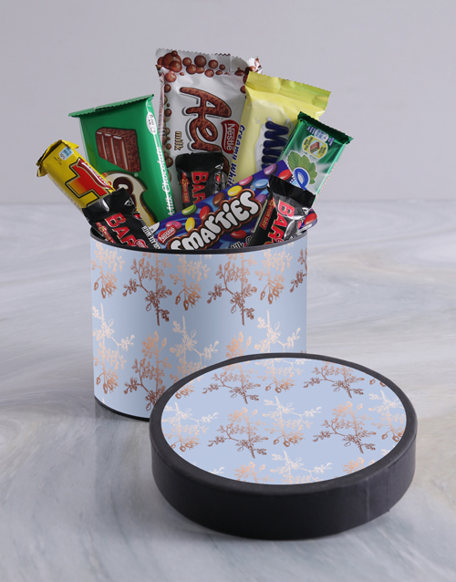 chocolate: Floral Wrap Choc Hat Box!