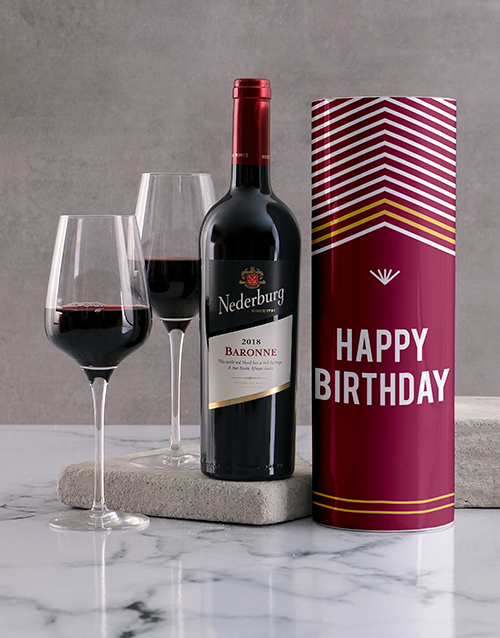 fine-alcohol: Happy Birthday Wine Tube!